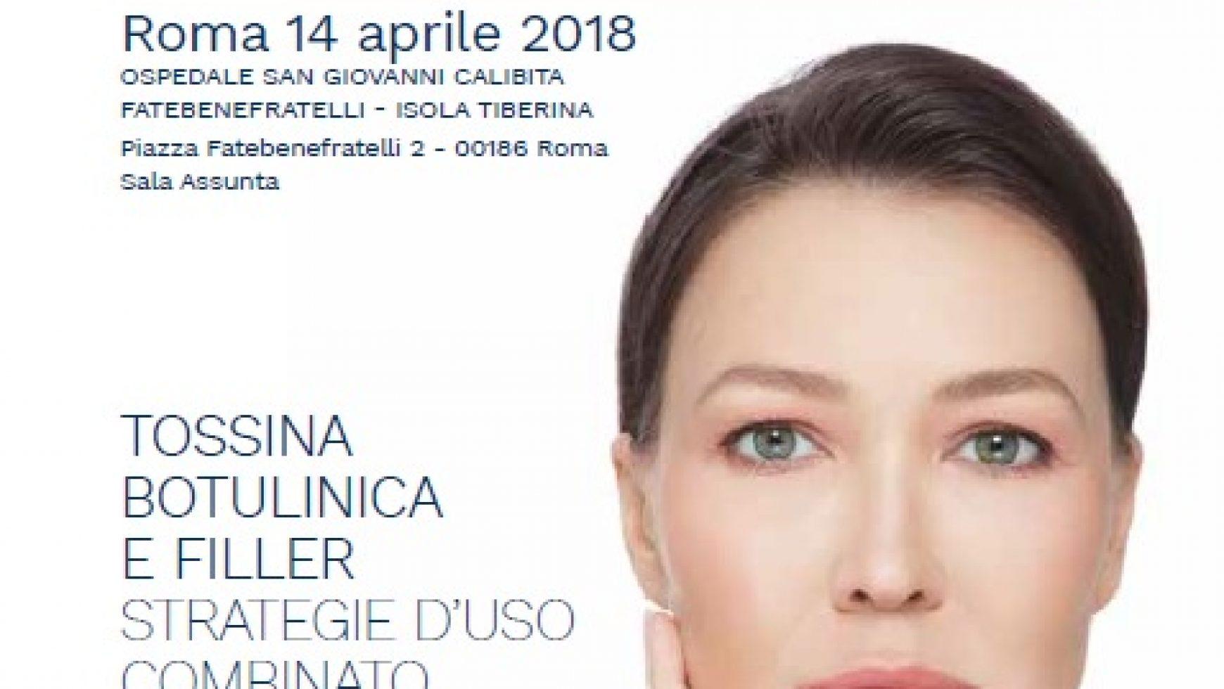 """Masterclass """"Tossina Botulinica e Filler  Strategie d'uso combinato per esaltare la naturale bellezza del volto"""""""
