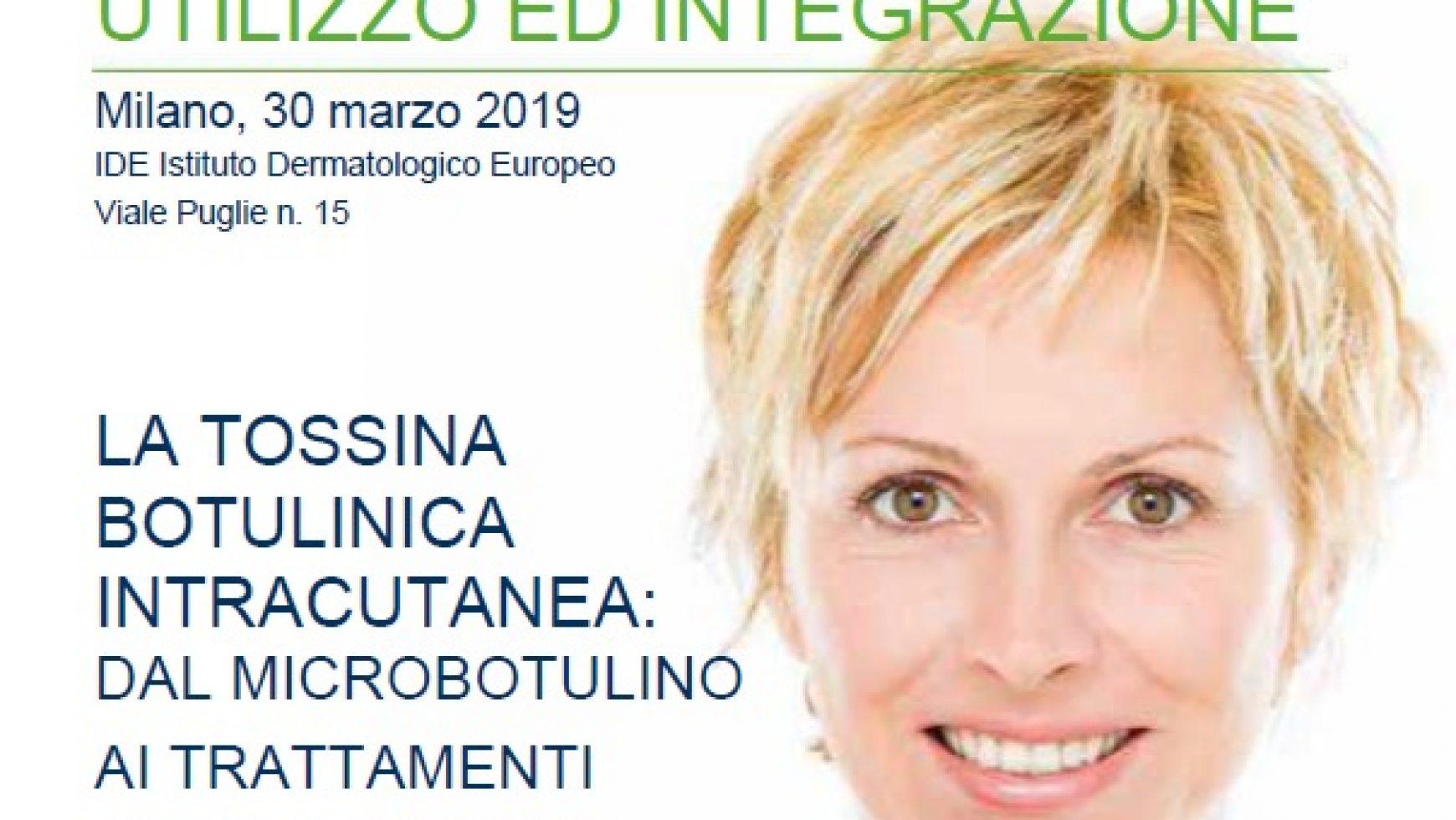 """Corso AITEB """"Microbotulino: nuove frontiere di utilizzo ed integrazione. La Tossina Botulinica intracutanea: dal microbotulino ai trattamenti dermatologici"""""""